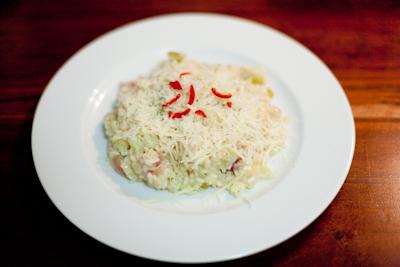 Recipe #20 – Cauliflower cheese & chilli risotto