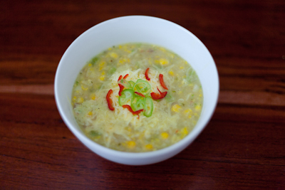 Chilli corn chowder