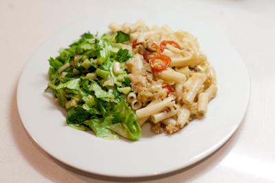 Creamy macaroni cheese