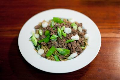 Recipe # 31 – Dan Dan noodles