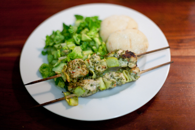 Recipe #19 – Herby grilled chicken kebabs