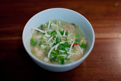 Recipe #40 - Thai soup with prawns