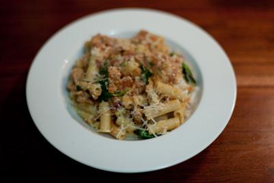 Recipe # 30 – Tuna and tomato rigatoni