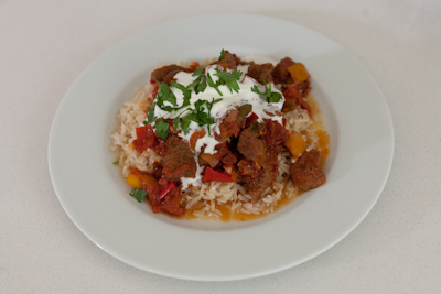 I M No Jamie Oliver Blog Archive Smokey Chilli Ostrich Goulash